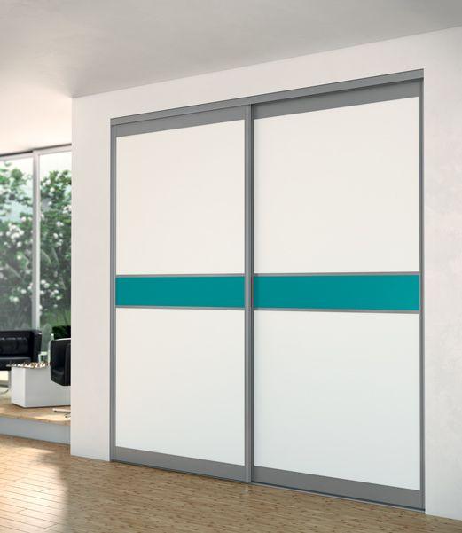 Portes coulissantes placards   dressings   pièces Sogal® portes