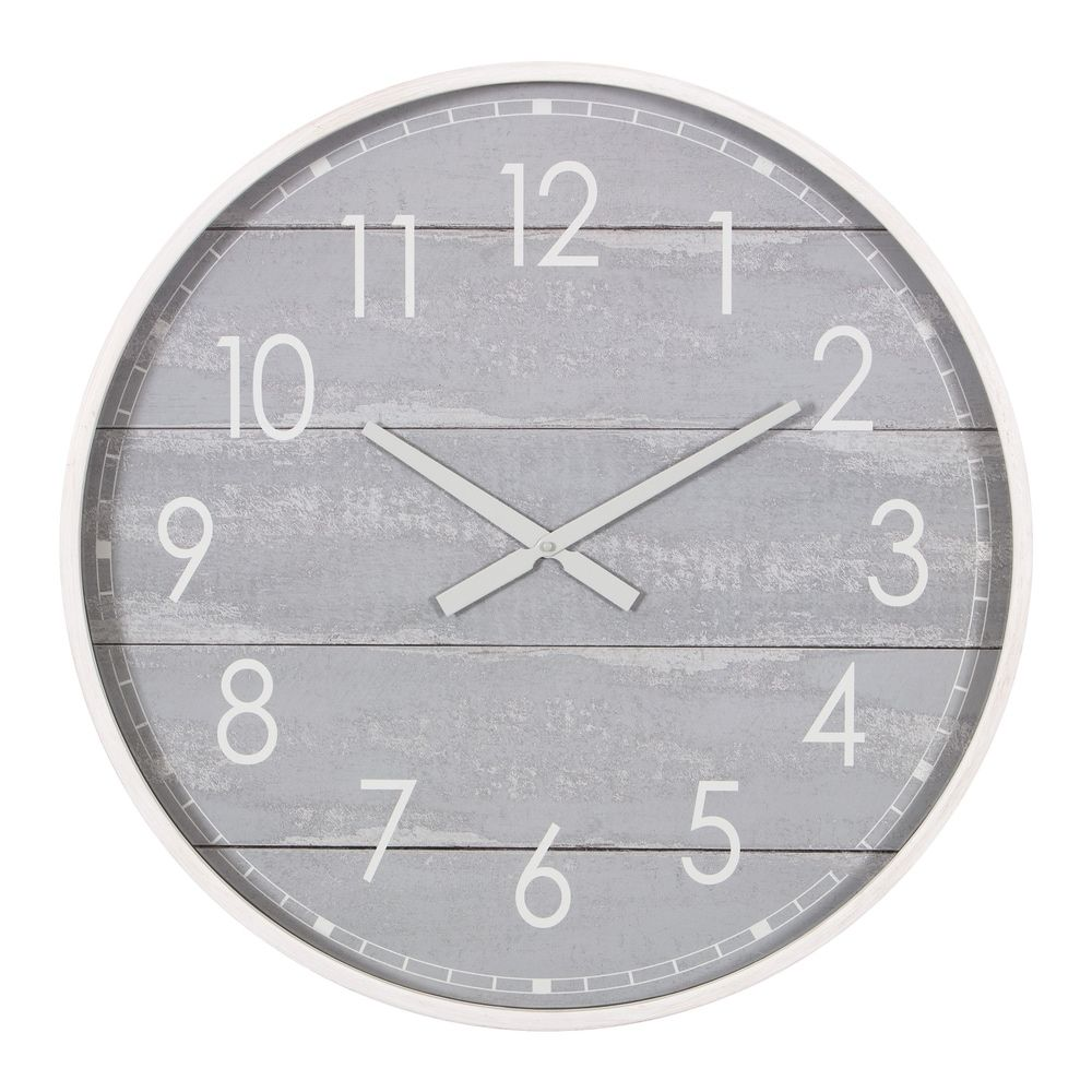 Time Piece Wall Clock Sun And Moon