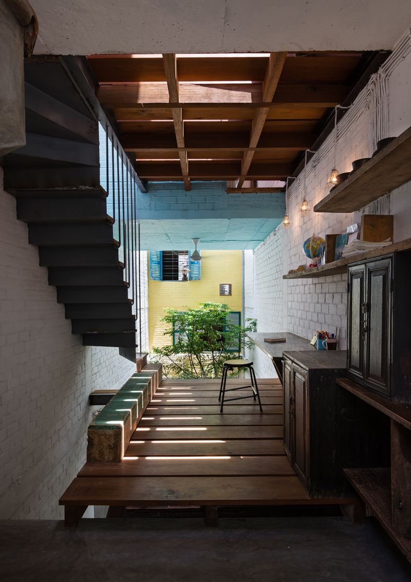 Home interior for small house saigon house storia di un recupero  garden  pinterest  house