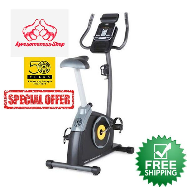 Exercise Bike Upright Cycle Magnetic Cycling Home Gym Workout Equipment Indoor Goldsgym Mit Bildern