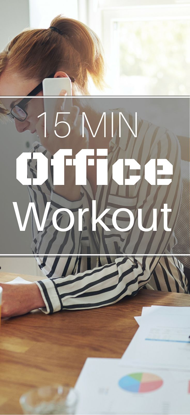 15 Minute Office Workout For Women Over 40 Office Exercise Workout Burn Calories