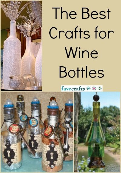 Glass Bottles Decoration 20 Crafts For Wine Bottles  Bottle Wine And Craft
