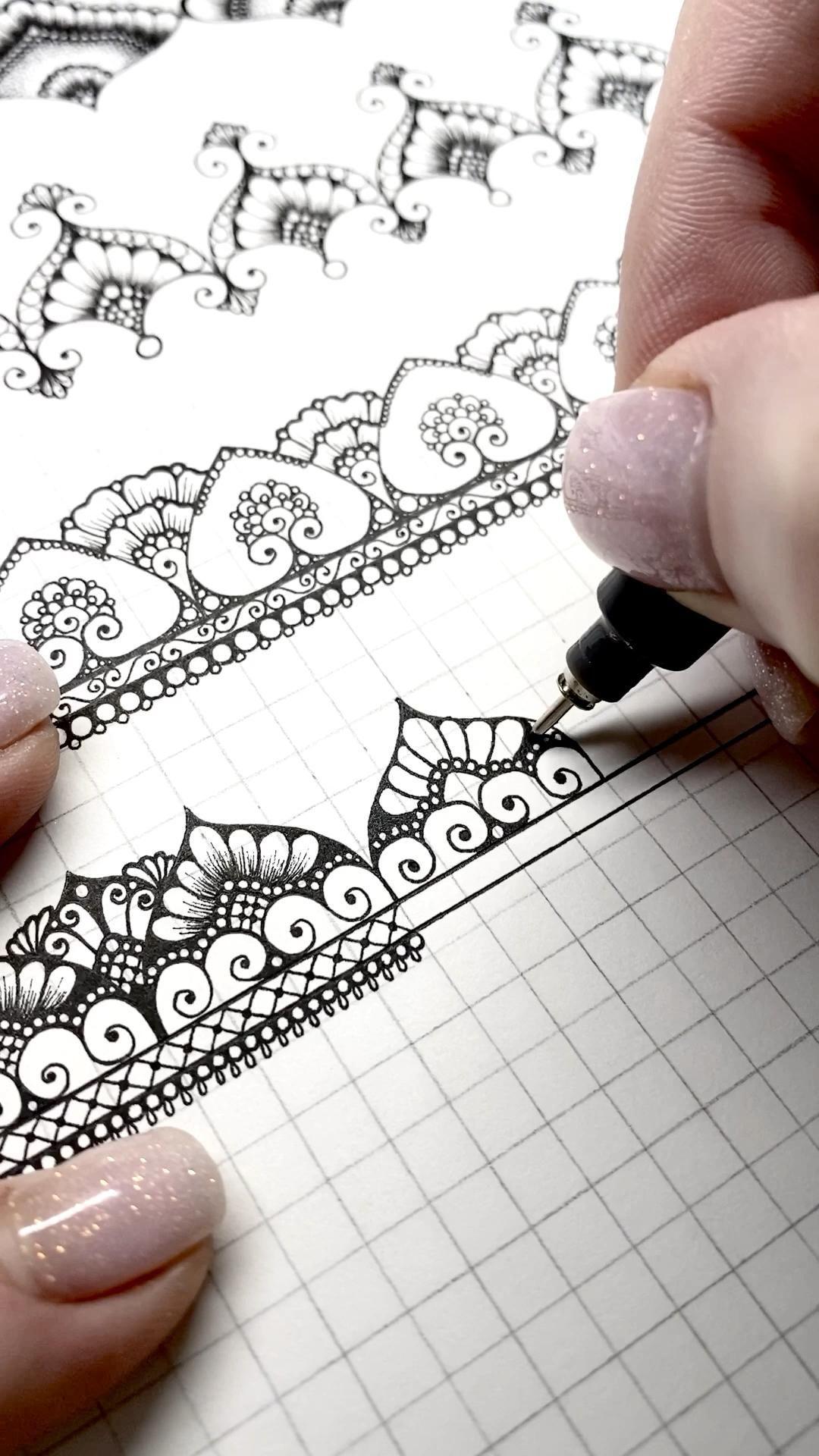 Senya Is Creating Mandala Art And Educating How To Draw Patreon Mandala Malen Anleitung Mandala Selber Malen Zeichnen Anleitung