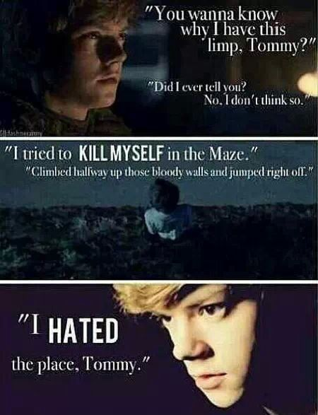 The Maze Runner Quotes Newt