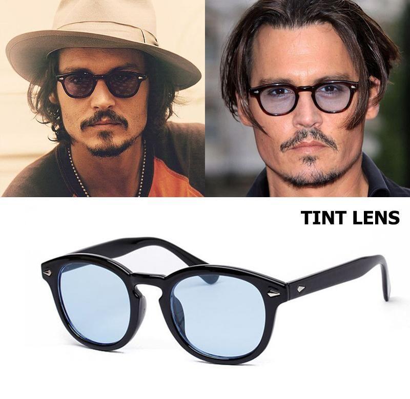 cd68edbda28 JackJad 2017 New Fashion Johnny Depp Round Style Tint Ocean Lens Sunglasses  Brand Design Party Show