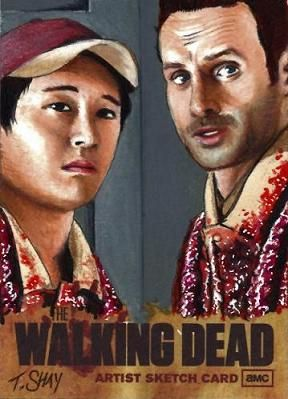 The Walking Dead Artist Proof Card by Dr-Horrible