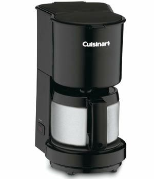 Cuisinart 4 Cup Coffee Maker Is A Space Saving Coffee Maker For Your Kitchen Which Brews Up To 4 Cups Of Fresh Coff Coffee Maker Reviews 4 Cup Coffee Maker Coffee Maker