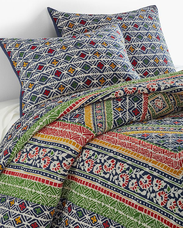 Taza Patchwork Quilt Pillow shams, Quilts, Cotton quilts