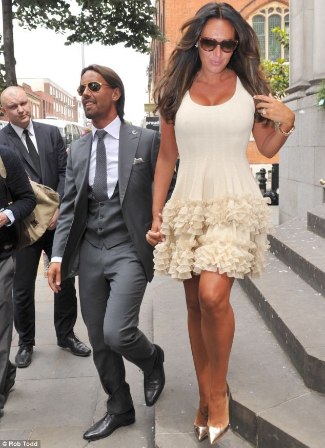 A 7m Wedding And They Weren T Even Properly Married Tamara Ecclestone Husband Jay Rutland Make Their Union Official With Registry Office Ceremony