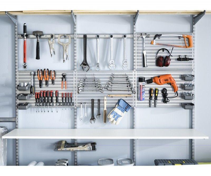 aufbewahrung aufbewahrung pinterest stauraum garage und werkzeuge. Black Bedroom Furniture Sets. Home Design Ideas