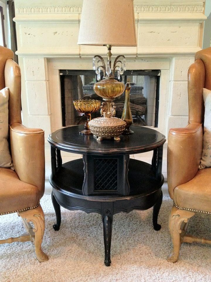 Best Vintage Two Tier End Table Or Nightstand Lightly 400 x 300