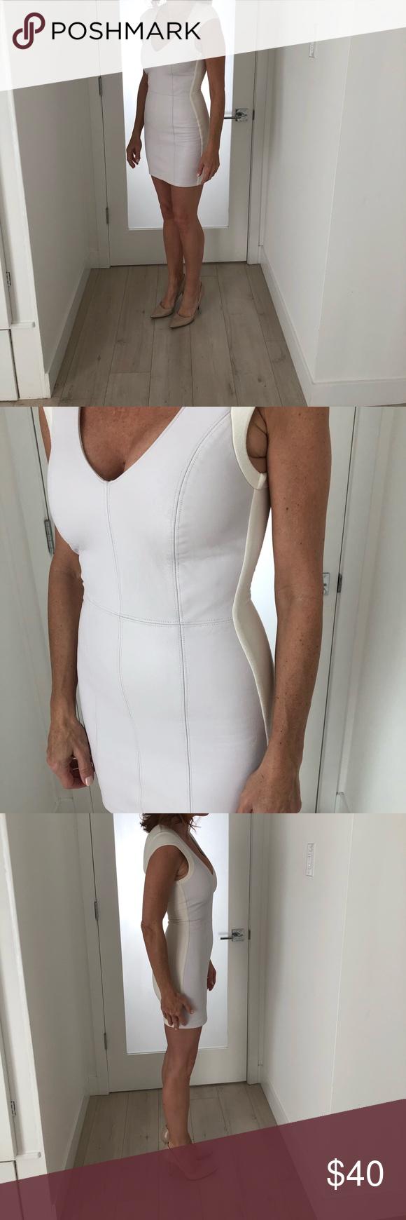 Sky White Leather Mini Dress Leather Mini Dress White Leather Leather Mini [ 1740 x 580 Pixel ]