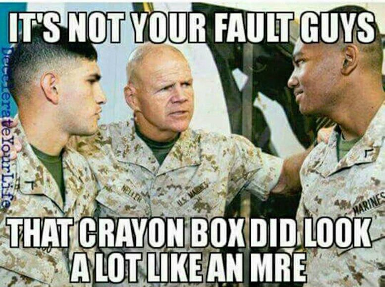 Funny Army Officer Meme : Tnr funny marine corps memes crayon eaters e