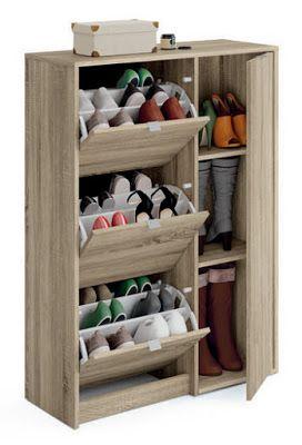 Modern Shoe Storage Cabinets Racks Design Ideas 2019 Rak Baju