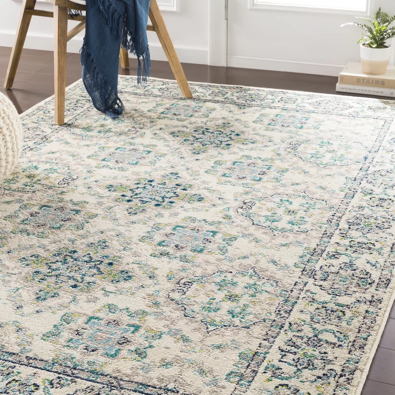 Ramsay Baby Blue Taupe Area Rug With Images Area Rugs Rugs Teal Area Rug