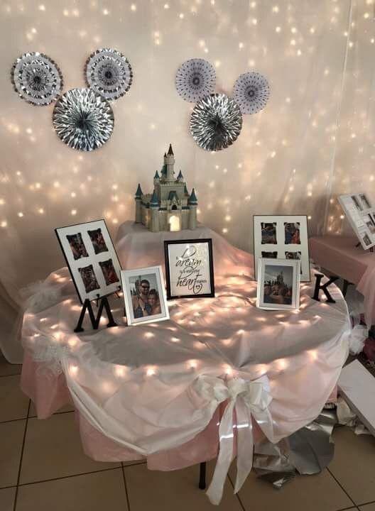 Disney Themed Wedding Shower Disney Themed Bridal Shower Wedding Shower Themes Disney Bridal Showers