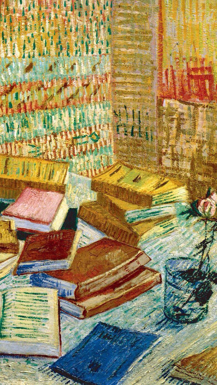 Van gogh iphone wallpaper tumblr - Van Gogh S Painting In Iphone Wallpaper