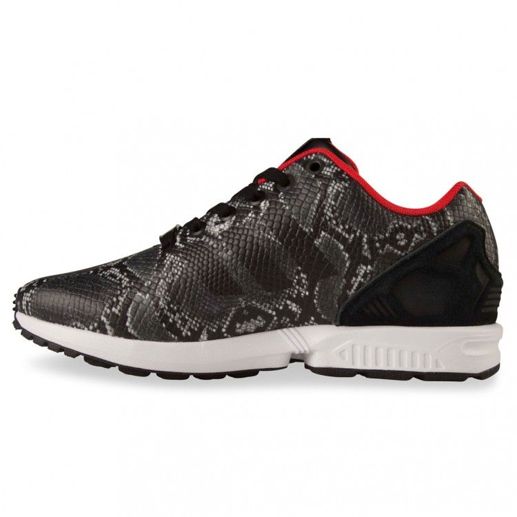 adidas originals ZX FLUX WOMENS black/tomato/snake