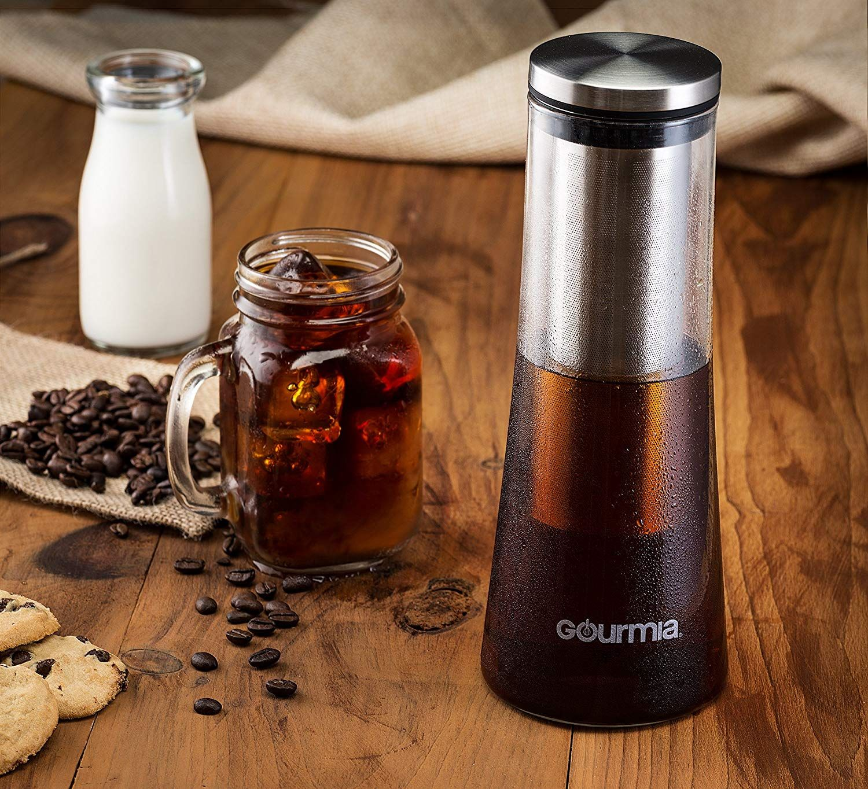Gourmia GCM9825 Cold Brew Coffee Maker Gourmet