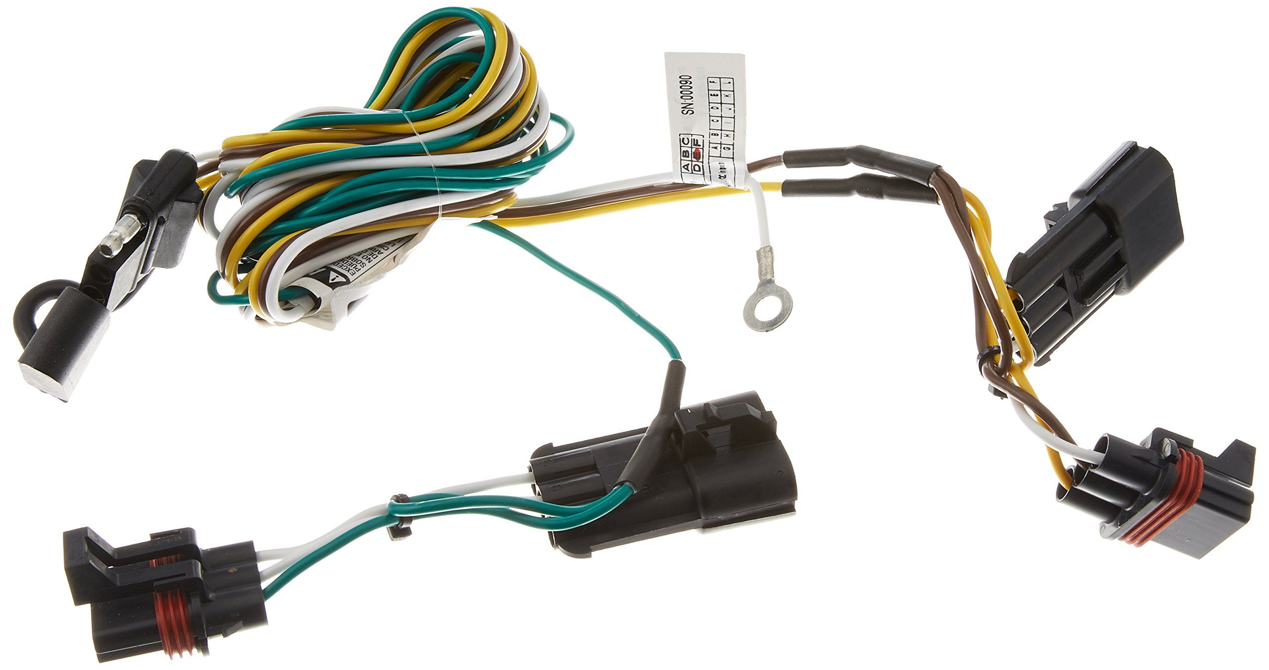 Curt 55432 Custom Wiring Harness Automotive Parts And Accessories Auto