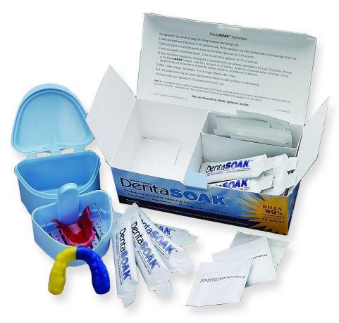 DentaSoak 3 Month Starter Kit- Persulfate-Free Retainer ...