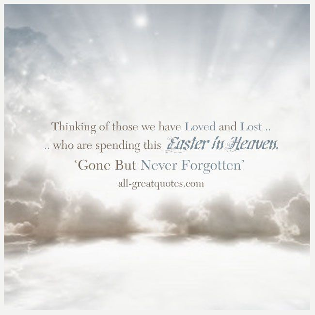 easter in heaven cards
