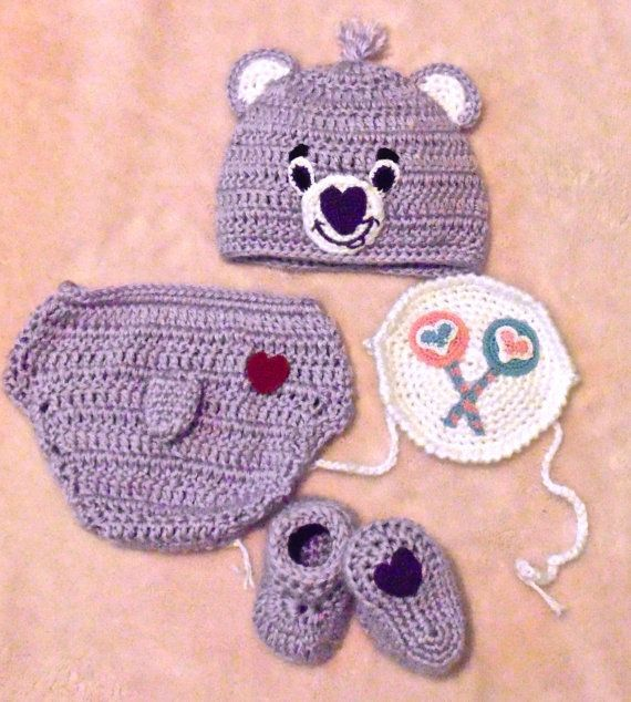 Crochet Purple Care Bear Costume Share Bear by BlackberryCrochet #carebearcostume Crochet Purple Care Bear Costume Share Bear by BlackberryCrochet #carebearcostume