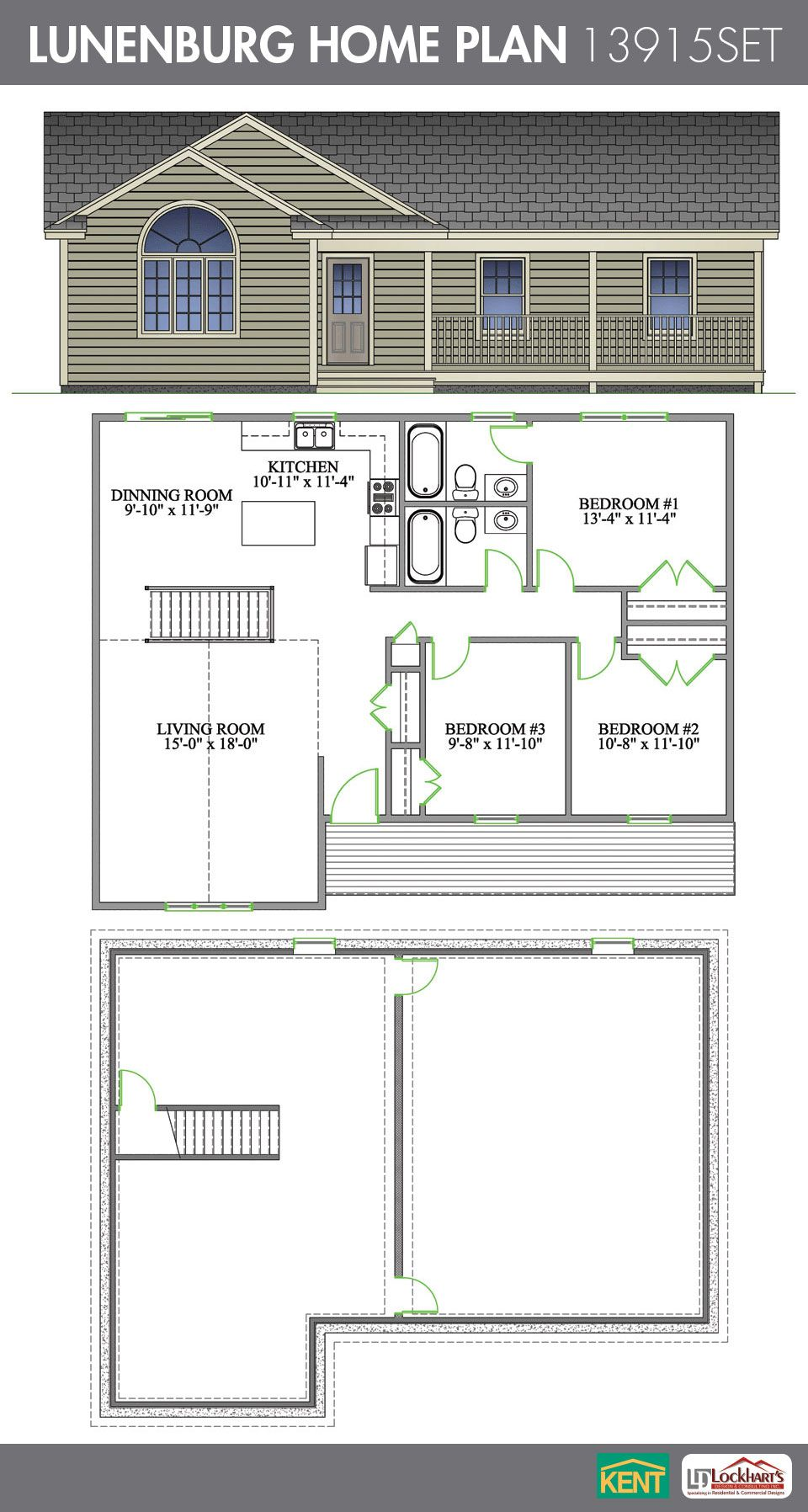 Lunenburg Home Plan Kent Building Supplies Arhitektura Doma Arhitektura Dom