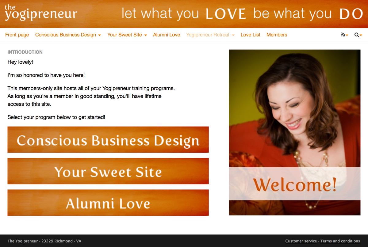 Simpero.com Membership site