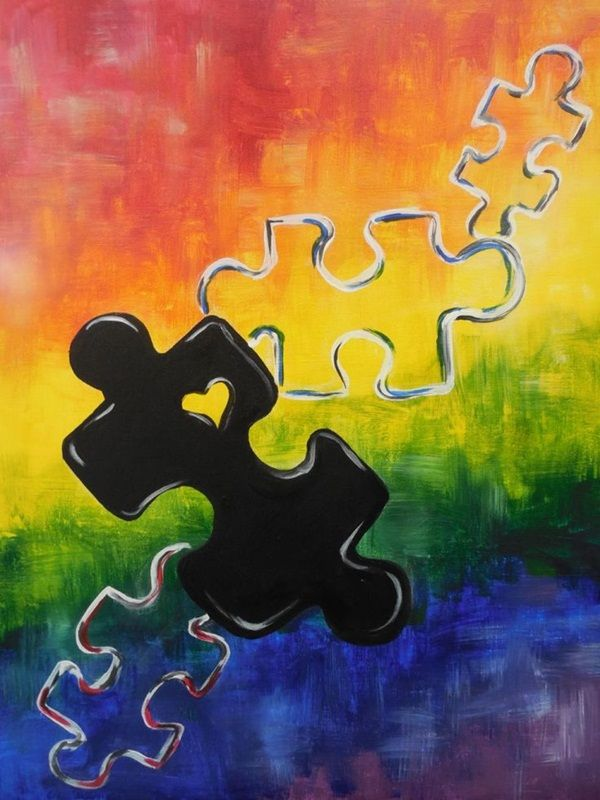 Pin by CharlieMomma on BC Art | Pinterest | Autism, Paintings and ...