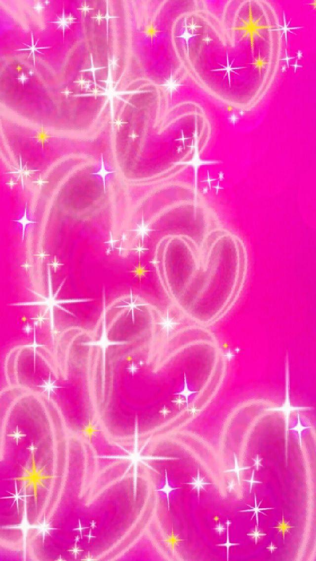 pink heart wallpaper hearts pinterest wallpaper