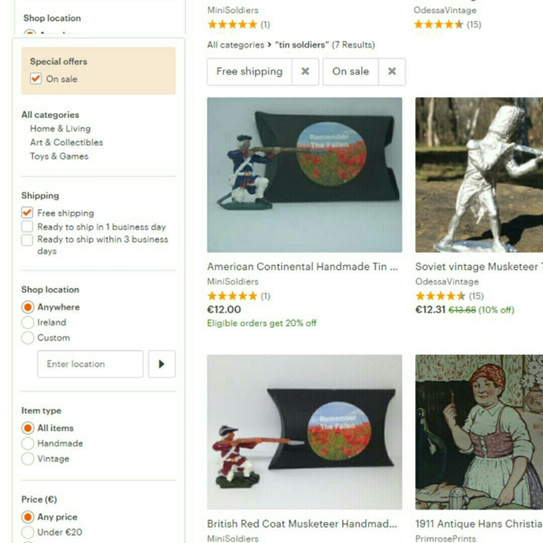 Free shipping and 20 discount? Check! etsy handpainted