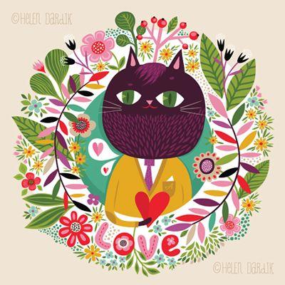 orange you lucky!: here's to LOVE ! via Helen Dardik