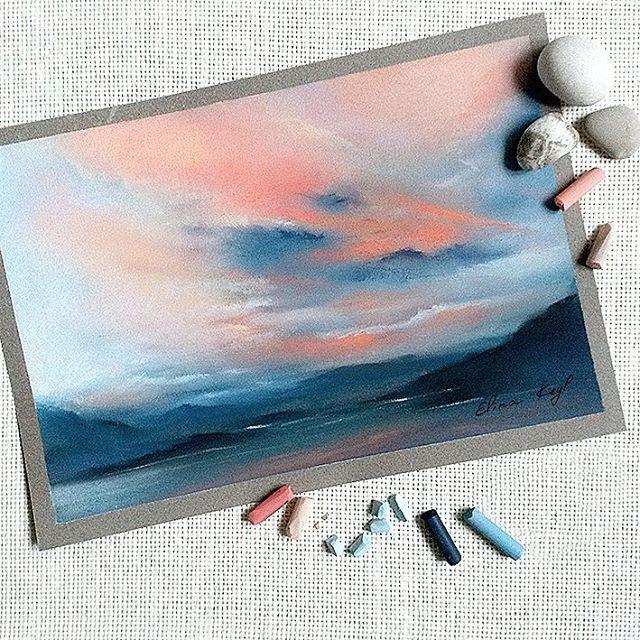 Kreide Kuste Pastellkreide Kunst Pastell Malerei