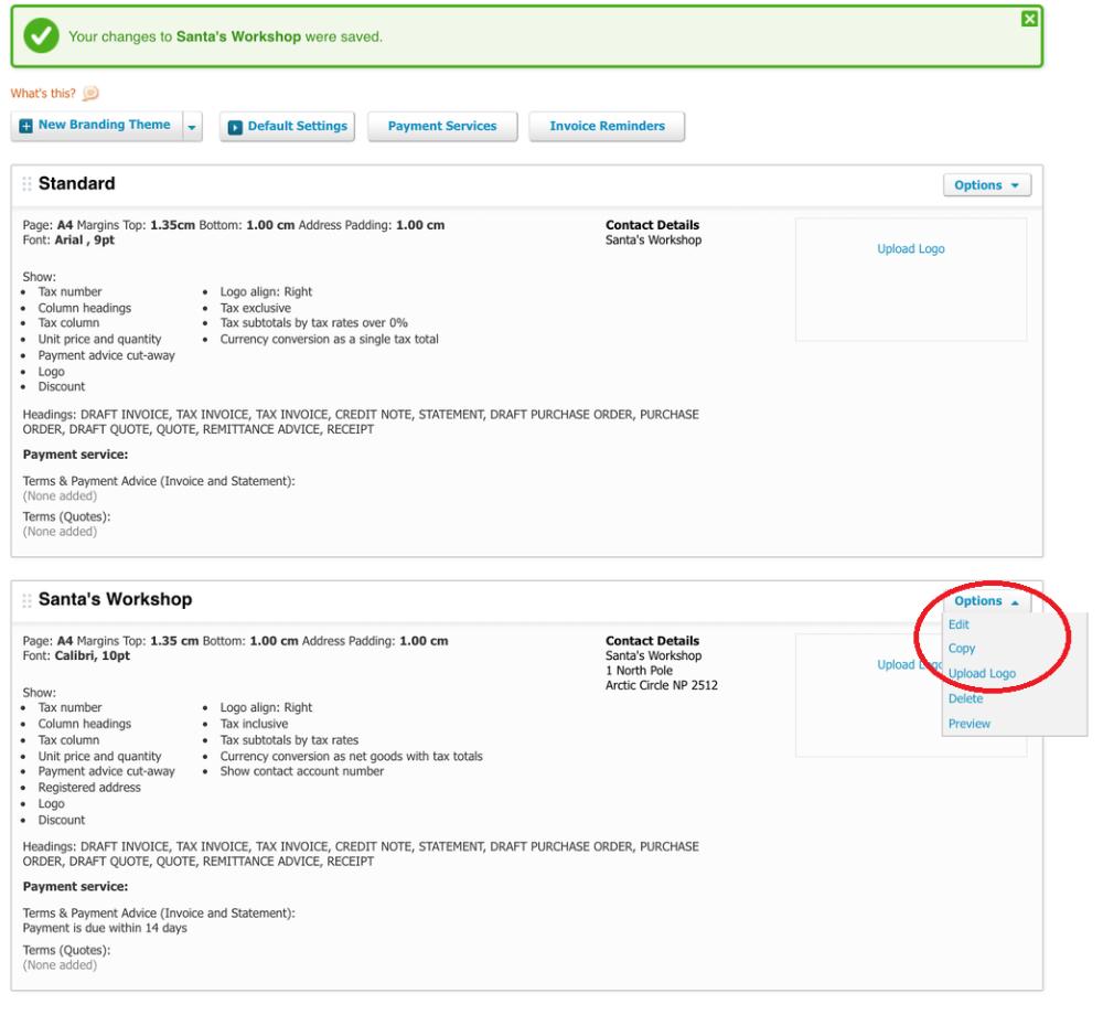 How To Customise Xero Invoice Templates Inside Xero Custom Invoice Template 10 Professional T Invoice Template Invoice Design Template Invoice Template Word