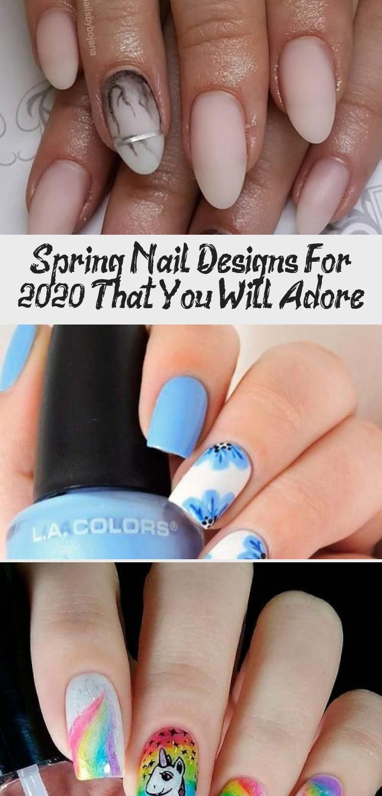 Sakura Bloom Nail Art #flowersnails #roundednails ★ Check out these simple, cute, and stylish spring nail designs! Spring will soon be here, which means florals and pastels are back. ★  #glaminati #lifestyle #springnaildesigns #ArtDesignBook #DigitalArtDesign #WordArtDesign #ArtDesignBlackAndWhite #ArtDesignTattoo