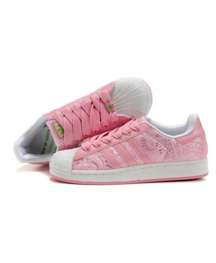 adidas superstar flower pink