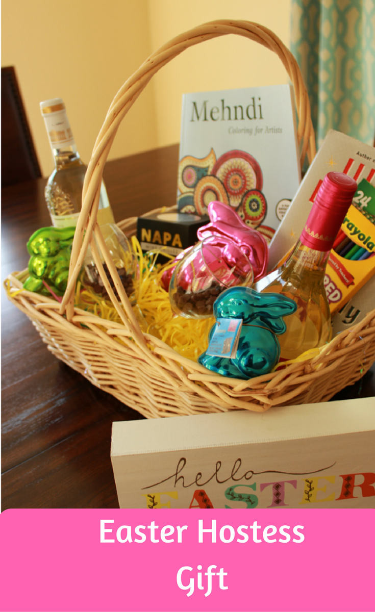 Easter basket hostess gift easter baskets and easter easter basket hostess gift negle Images