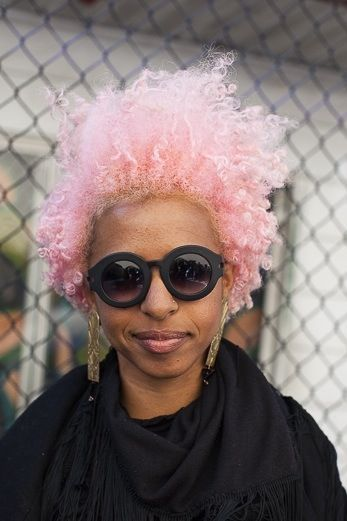 Cotton Candy Pink - http://www.blackhairinformation.com/community/hairstyle-gallery/natural-hairstyles/cotton-candy-pink/ #naturalhairstyles