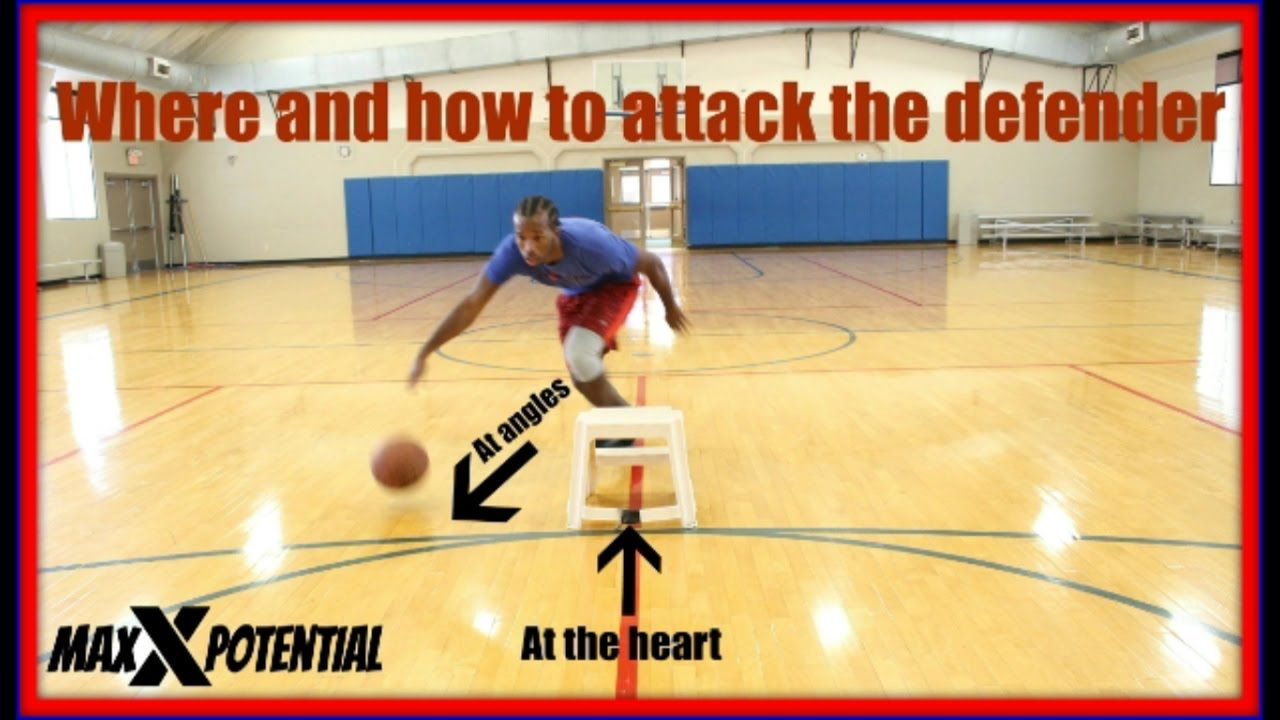 Where And How To Attack The Defender Basketball Skills Defender Youtube