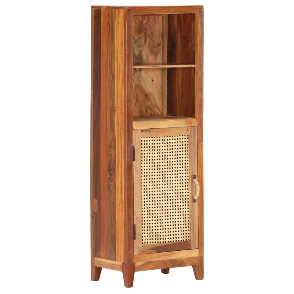 tall cabinet 40x30x122 cm solid recycled wood