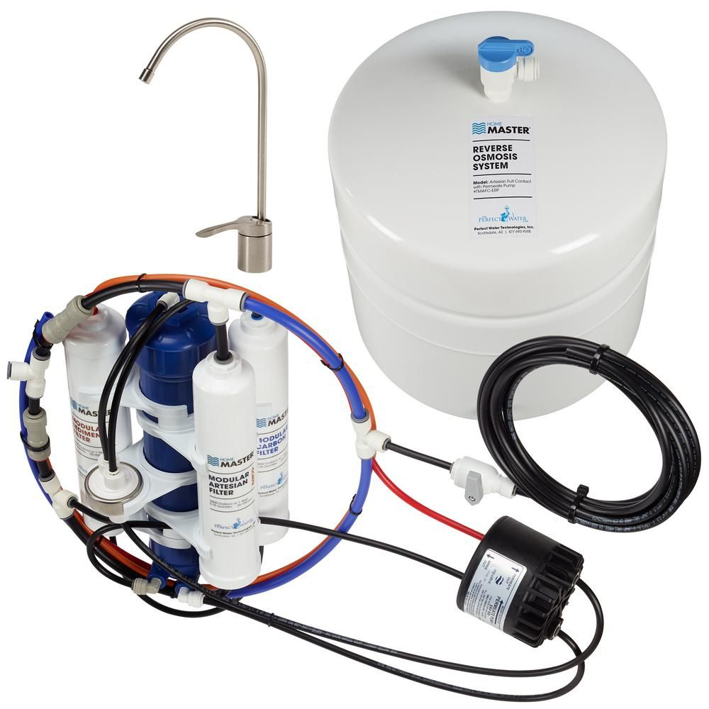 Home Master Artesian Full Contact With Permeate Pump