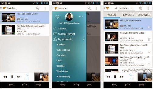 FoxTube – YouTube Player v0 9 7 Apk For Android [Download