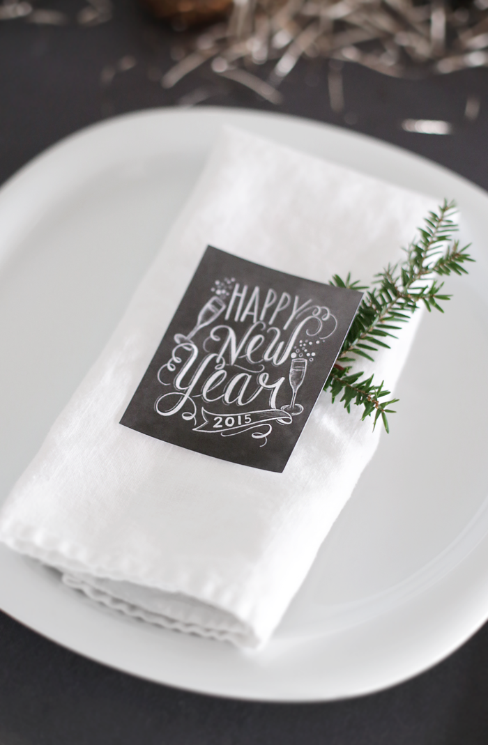New Year´s table setting | Stylizimo