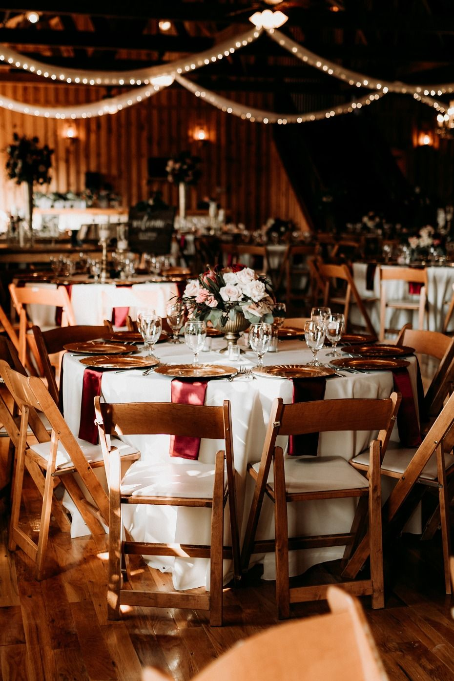 Dream Texas Wedding in Burgundy and Gold with Budget Breakdown ...