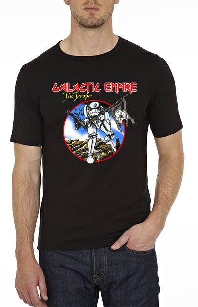 $179.00 Playera Star Wars & Iron Maiden - Comprar en Jinx