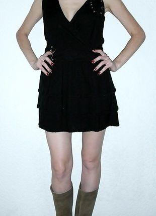 Kaufe meinen Artikel bei #Kleiderkreisel http://www.kleiderkreisel.de/damenmode/kurze-kleider/111785806-kleid-schwarz-von-vero-moda-gr36-nieten-lilie