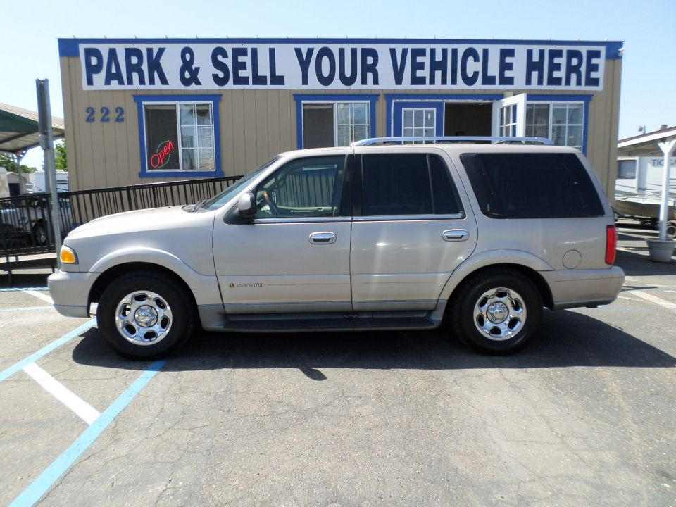 suv for sale 2001 lincoln navigator in lodi stockton ca lincoln navigator suv for sale ford expedition pinterest