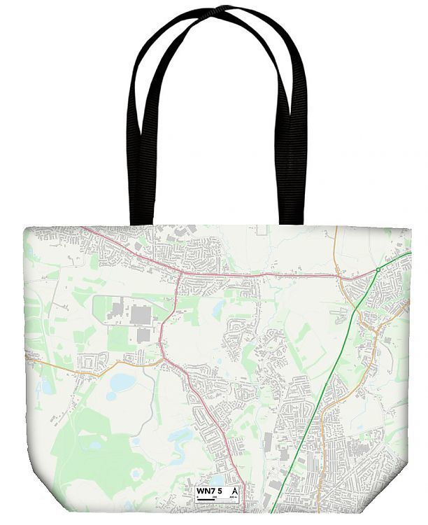 Shopping Bag Wigan WN7 5 Map