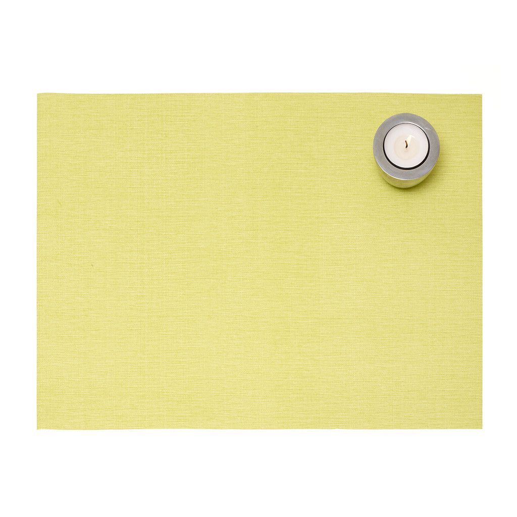 Deluxe Placemat Set - Kiwi Green from The Napkins US